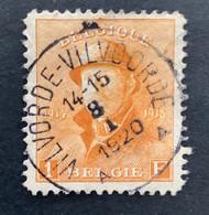 OBP175 EC VILVORDE-VILVOORDE 8 I 1920 - 1919-1920  Cascos De Trinchera