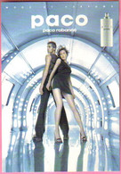 "Carte Postale ""Cart'Com"" (1999) Paco Rabanne - Mode Et Parfum - Fashion"