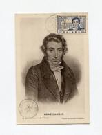 !!! GUINEE, CARTE MAXIMUM RENE CAILLE CACHET DE CONAKRY DU 10/1/1940 - Lettres & Documents