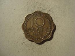 MONNAIE SRI LANKA 10 CENTS 1971 - Sri Lanka