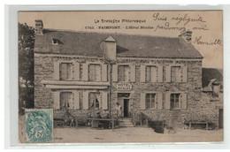 35 PAIMPONT HOTEL NICOLAS N° 1742 - Paimpont