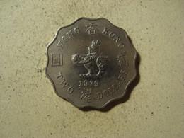 MONNAIE HONG KONG 2 DOLLARS 1979 - Hong Kong
