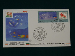 Italy 1998 Milano 98' FDC VF - FDC