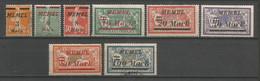 Timbre De Colonie Française Memel Oblitéré Et Neuf *  N 86 / 94 Manque Le 92 - Used Stamps