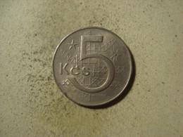 MONNAIE TCHECOSLOVAQUIE 5 KORUN 1978 - Czechoslovakia
