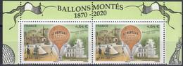 """FR 2020 / Hors Abonnement-Paire PA N° 84a  """" BALLONS MONTES-1870 /2020 """" Issue BF 10ex / 3 Marges Illustrées / Neuve Xx - 1960-.... Neufs"""
