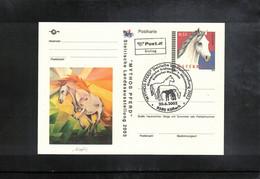 Austria / Oesterreich 2003 Horses Postcard FDC - Caballos