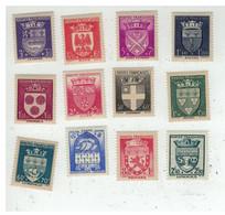 FRANCE N°553-564 N** Cote 60€ - Unused Stamps