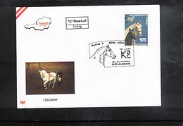 Austria / Oesterreich 2008 Horses Lipizzaner FDC - Caballos