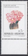 Argentina 1987 - Definitive Stamp: Flowers Of Argetinca, Cactus - Mi 1855 ** MNH [1348] - Unused Stamps