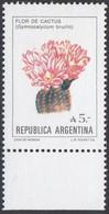 Argentina 1987 - Definitive Stamp: Flowers Of Argetinca, Cactus - Mi 1855 ** MNH [1349] - Unused Stamps