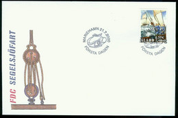 Fd Aland Islands FDC 2000 MiNr 177   Visit By Cutty Sark Tall Ships' Race Competitors To Mariehamn - Aland