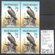 D - [856058]TB//**/Mnh-Belgique 1987 - N° 2246, Faucon Pélerin, Animaux, Oiseau, Aigles & Rapaces Diurnes, BD4 - Águilas & Aves De Presa