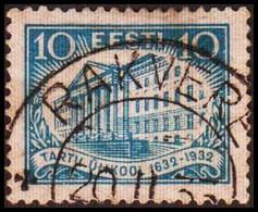 1932. EESTI.  UNIVERSITY OF TARTU  10 S. LUXUS Cancel.  (Michel 95) - JF417573 - Estonia