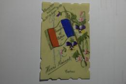 Mini Carte Peinte à La Main Classe 1911 Souvenir Du 85e De Ligne - 2e Cie Henri Rainat Cosne - EB18 - Cosne Cours Sur Loire