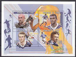 Soccer World Cup 1998 - Football - CHAD - S/S MNH - 1982 – Espagne