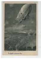 AVIATION #18152 BALLON DIRIGEABLE ZENO DIEMER EIN ZEPPELIN UBER LUTTICH N° 125 - Airships