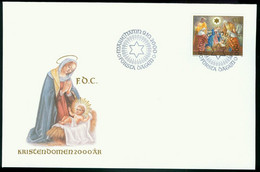Fd Aland Islands FDC 2000 MiNr 181   2000 Years Of Christianity. The Nativity - Aland