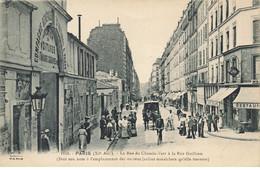 75 PARIS 11 #22979 RUE DU CHEMIN VERT A LA RUE GUILHEM COMPAGNIE GENERALE LOCATION VOITURES CAFE RESTAURANTS ATTELAGE - Distrito: 11