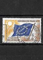 1673 Timbre De Service YT 27 Belle Oblitération Conseil De L'europe 15-06-1964 - Oblitérés