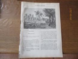 LES MISSIONS CATHOLIQUES DU 10 OCTOBRE 1884 MADURE HINDOUSTAN,NIGER,THIBET MISSION DANS L'HIMAYALA,NECROLOGIE MGR DELAPL - Riviste - Ante 1900