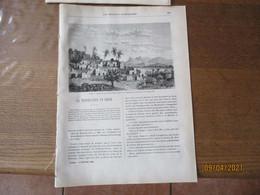 LES MISSIONS CATHOLIQUES DU 17 OCTOBRE 1884  LA PERSECUTION EN CHINE,CONSTANTINOPLE,LIBAN REMOULEUR MARONITE,BEDUINE,NIG - Riviste - Ante 1900