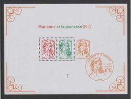 "FRANCE - Feuillet ""Marianne Et La Jeunesse"" 2013 - Yvert  Bloc 133 - 2013-... Marianne (Ciappa-Kawena)"