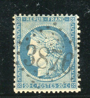 Superbe N° 37 - Cachet GC 3876 ( St-Tropez / Var ) - 1870 Besetzung Von Paris