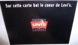Carte Postale (1998) - Original Levi's Store (vêtements, Mode) Sur Cette Carte Bat Le Coeur De Levi's - Fashion