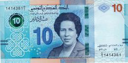 "TUNISIA 10 DINARS 2020 UNC P-NEW ""free Shipping Via Registered Air Mail"" - Tunisia"