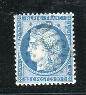 Superbe N° 37 Bien Centré - Cachet GC 2370 ( Mirecourt / Vosges ) - 1870 Besetzung Von Paris