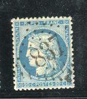 Superbe N° 37 Centrage Parfait - Cachet GC 837 ( Chalabre - Aude ) - 1870 Besetzung Von Paris