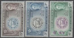 Bermuda - #135-37(3) - MNH - Bermuda