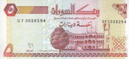 SUDAN 5 DINARS 1993 P-51 UNC */* - Sudan