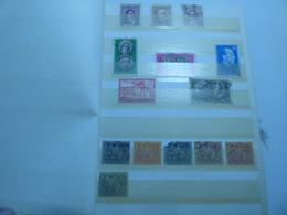 DESTOCKAGE- PETITE COLLECTION SUISSE ALLEMAGNE AFRIQUE MADAGASCAR ITALIE ESPAGNE MONACO ETC  NEUFS ET OBLITERES - Collections (with Albums)