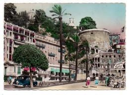 NICE --1956 -- Montée Du Chateau Et Tour Bellanda  (petite Animation, Voiture) ......... à Saisir - Vallauris