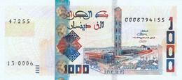 "Algeria 1000 Dinars 2018  UNC P-NEW ""free Shipping Via Registered Air Mail"". - Algeria"