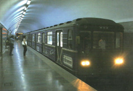 UNDERGROUND * SUBWAY * METRO * RAIL RAILWAY * RAILROAD TRAIN * BAKU * AZERBAIJAN * Top Card 0395 * Hungary - Subway
