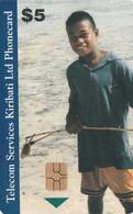 KIRIBATI. BOY. 5$. 1999. KI-TSK-0001. (001). - Kiribati