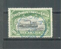 1898 Belgian Congo Used - 1894-1923 Mols: Mint/hinged