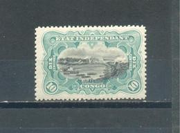 1895 Belgian Congo MVLH - 1894-1923 Mols: Mint/hinged
