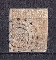 Bayern - 1867 - Michel Nr. 17 OMR 598 Würzburg - Gestempelt - 60 Euro - Bavaria