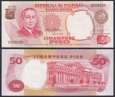 PHILIPPINEN - PHILIPPINES 50 Pesos 1969 Pick 146a UNC (1) Sig.7   (28805 - Otros – Asia