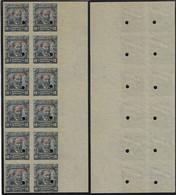 Brazil 1906 Stamp RHM-136 Aristides Lobo Specimen Hole And Overprint Ungummedjurist Politician Journalist Abolitionist - Nuevos