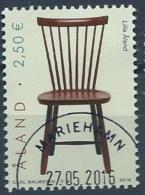 Aland 2016 N° 427 Oblitéré Chaise - Aland