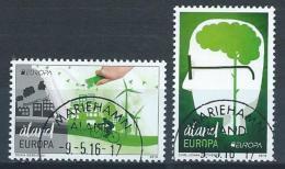 """Aland 2016 N° 422/423 Oblitérés  Europa """"pensez Vert"""" - Aland"""