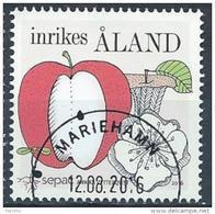 Aland 2016 N° 429 Oblitéré SEPAC Pomme - Aland
