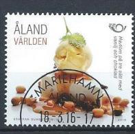Aland 2016 N°420 Oblitéré Norden Gastronomie - Aland