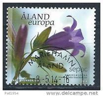 Aland 2014 N° 391 Oblitéré Sepac Fleur - Aland