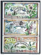 Aland 2016 N° 424/426 Oblitérés  Plantes Médicinales - Aland